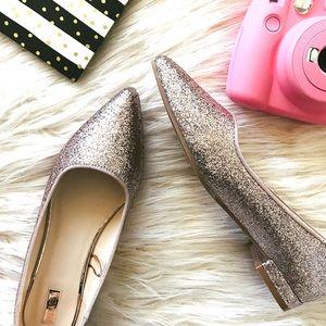 Shoes - Glitter Flats